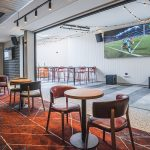 The Peakhurst Hotel sports bar